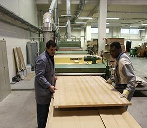 Production proces Lambri Woodpanels