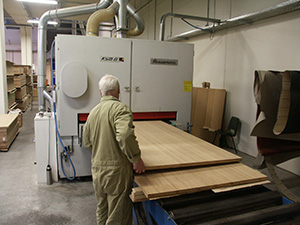 Production proces, Lambri Wood Panels,
